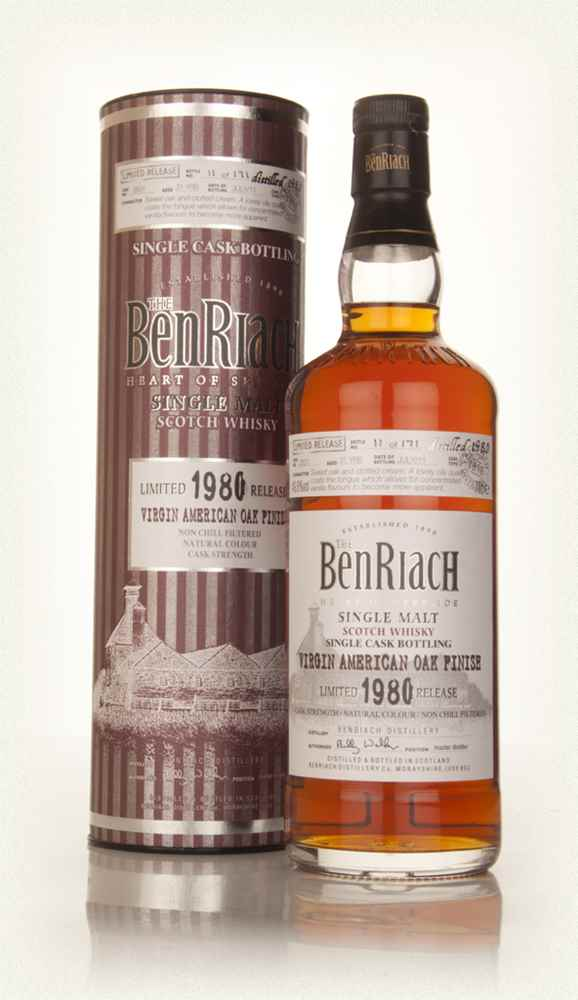 BenRiach 31 Year Old 1980 (cask 2531) - Virgin American Oak Finish