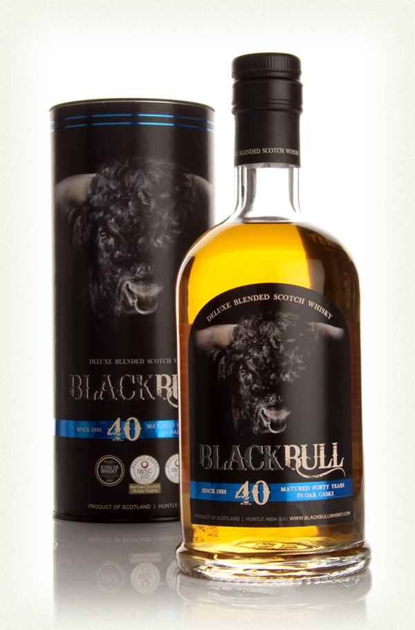 Black Bull 40 Year Old - 1st Release (Duncan Taylor)