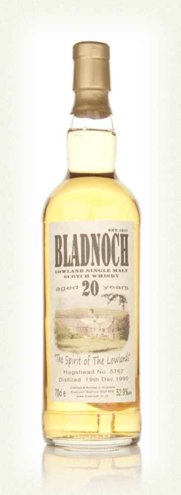 Bladnoch 20 Year Old 1990 (cask 5767)