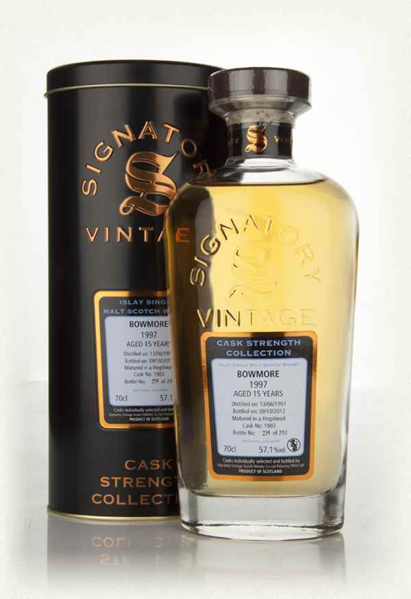 Bowmore 15 Year Old 1997 Cask 1903 - Cask Strength Collection (Signatory)