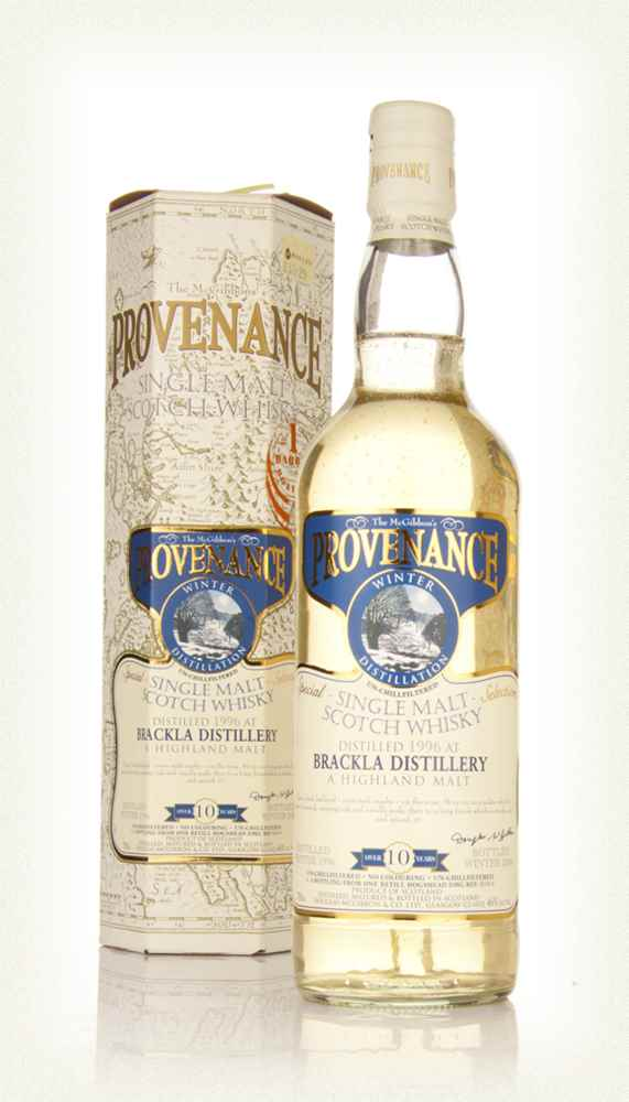 Royal Brackla 10 Year Old 1996 - Provenance (Douglas Laing)