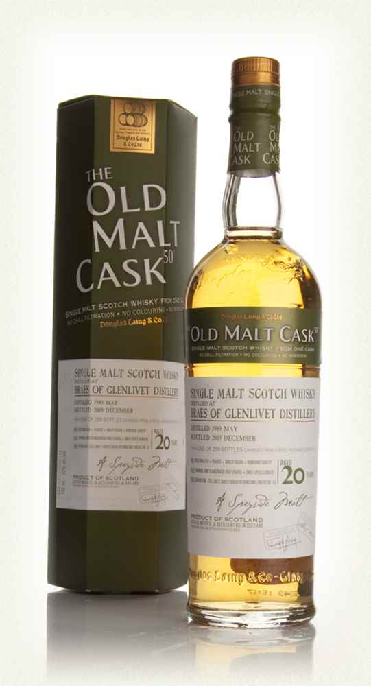 Braes of Glenlivet 20 Year Old 1989 - Old Malt Cask (Douglas Laing)