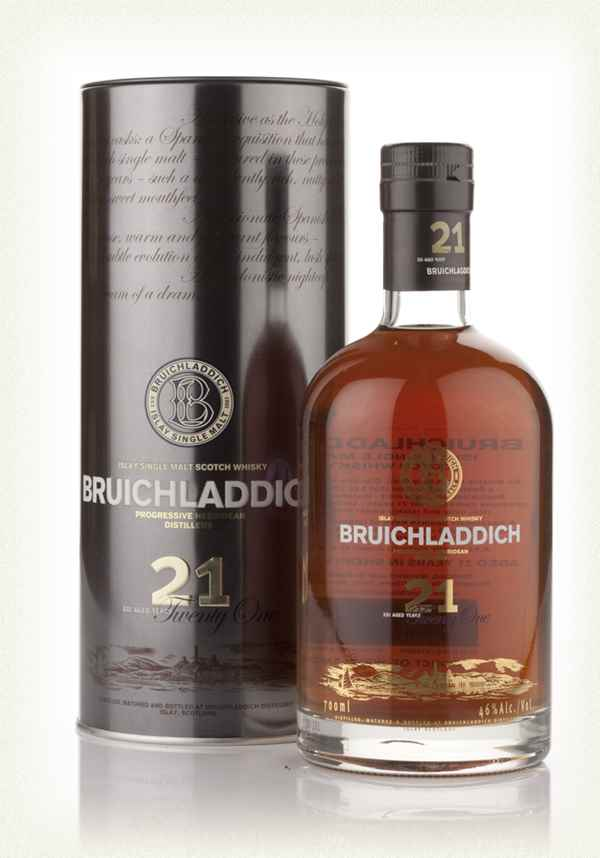 Bruichladdich 21 Year Old Oloroso Cask Finish