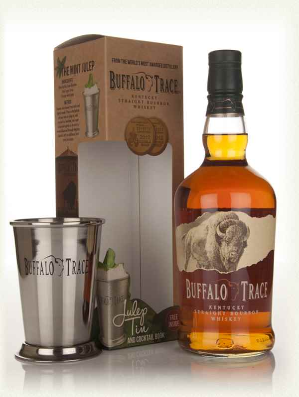 Buffalo Trace With Julep Tin And Cocktail Book