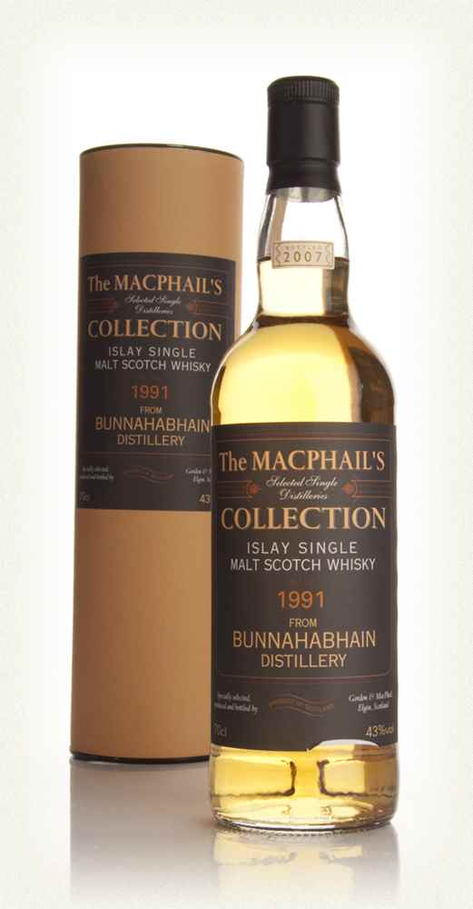 Bunnahabhain 1991 - The MacPhail's Collection (Gordon and MacPhail)