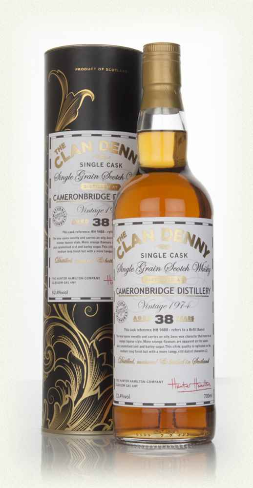 Cameronbridge 38 Year Old 1974 Cask 9488 - The Clan Denny (Douglas Laing)