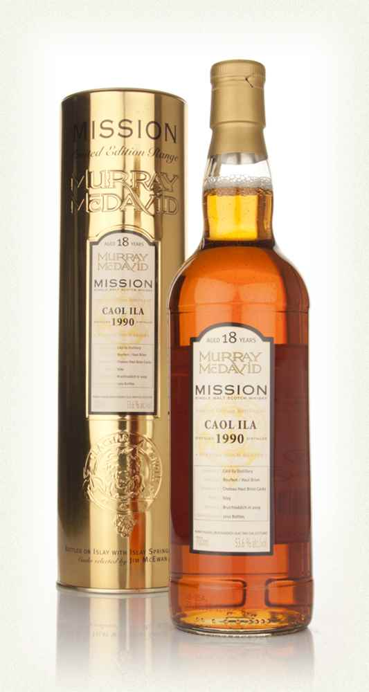 Caol Ila 18 Year Old 1990 - Mission (Murray McDavid)