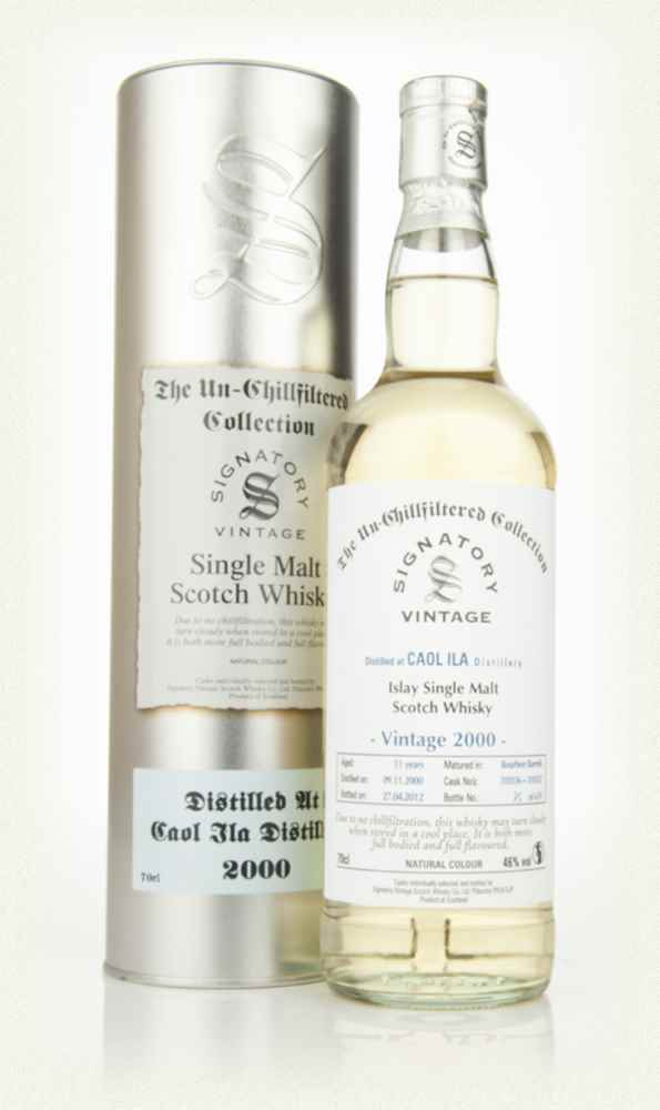 Caol Ila 11 Year Old 2000 - Un-Chillfiltered (Signatory)