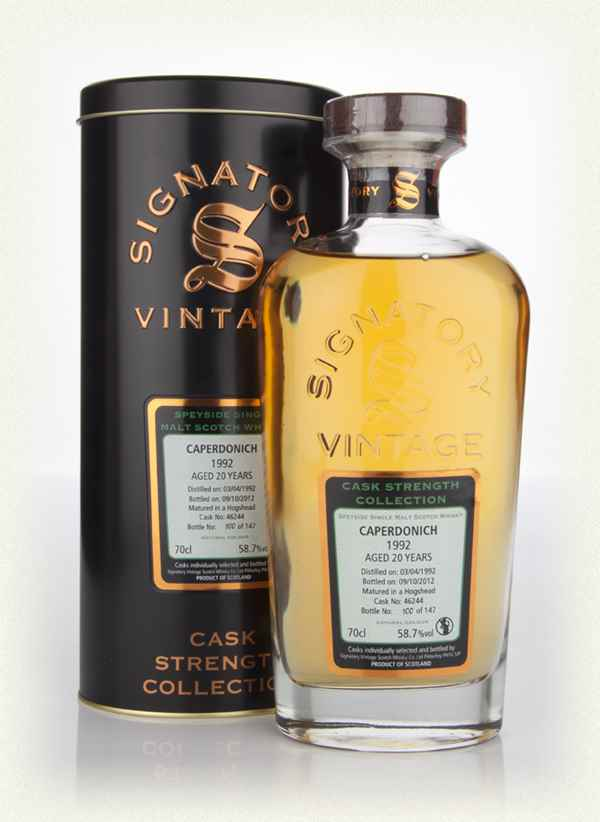 Caperdonich 20 Year Old 1992 Cask 46244  - Cask Strength Collection (Signatory)