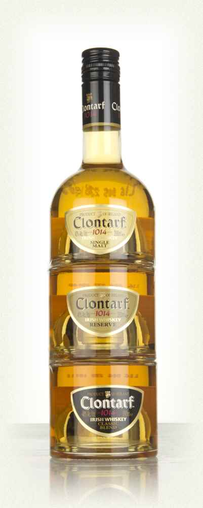 Clontarf Irish Whiskey Trinity 3x20cl