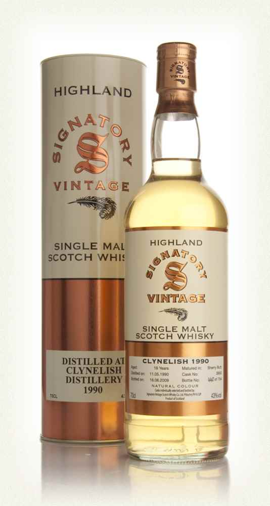 Clynelish 19 Year Old 1990 (Signatory)