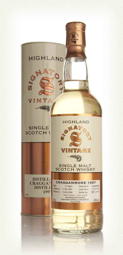 Cragganmore 12 Year Old 1997 (Signatory)