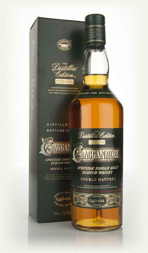 Cragganmore 1998 (bottled 2012) Port Wood Finish - Distillers Edition