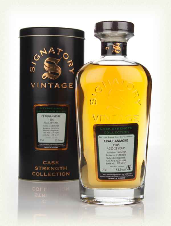Cragganmore 28 Years Old 1985 (casks 1239+1245) - Cask Strength Collection (Signatory)