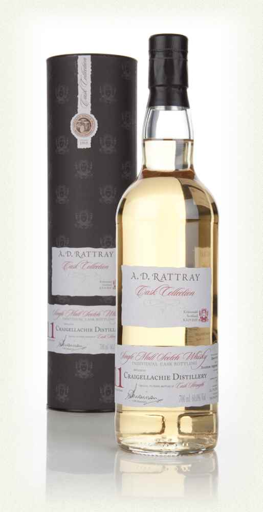 Craigellachie 11 Year Old 2002 (cask 4) - Cask Collection (A.D. Rattray)