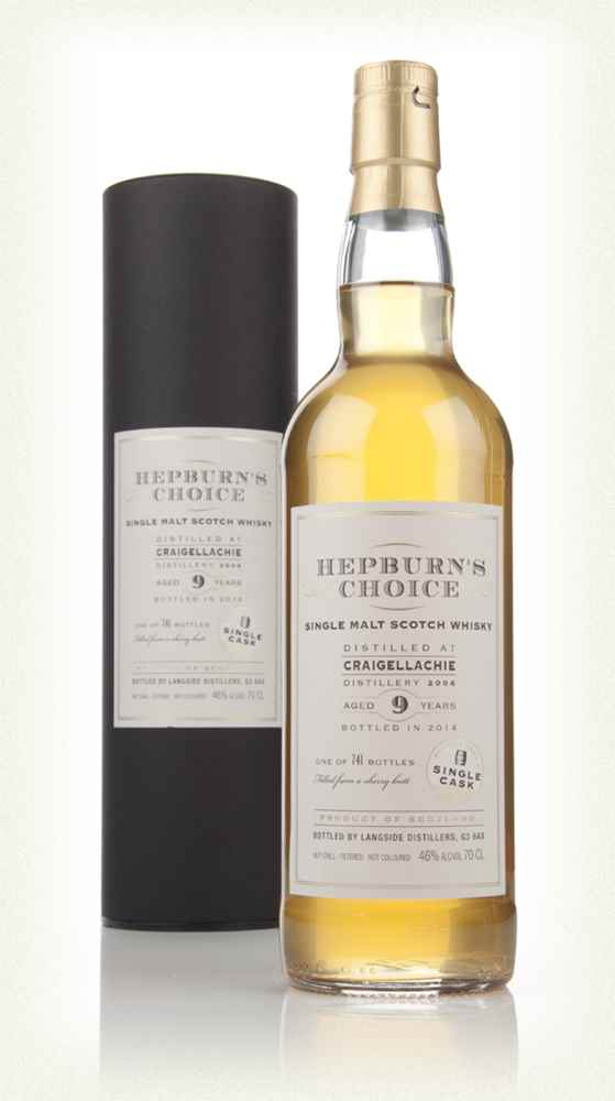 Craigellachie 9 Year Old 2004 - Hepburn's Choice (Langside)