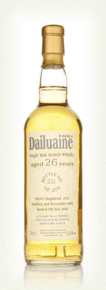 Dailuaine 26 Year Old 1983 (Bladnoch)