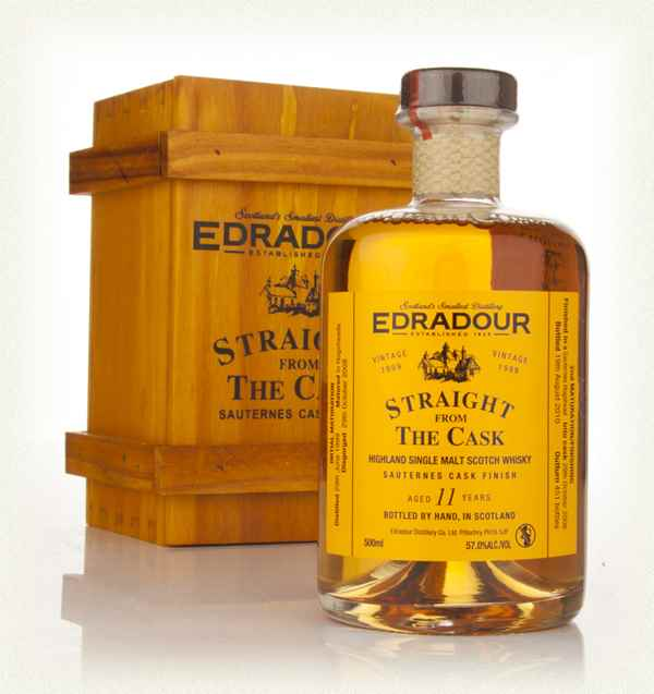 Edradour 11 Year Old 1999 Sauternes Cask Finish - Straight from the Cask