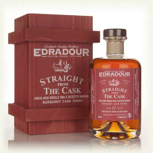 Edradour 11 Year Old 2002 Burgundy Cask Finish - Straight From The Cask