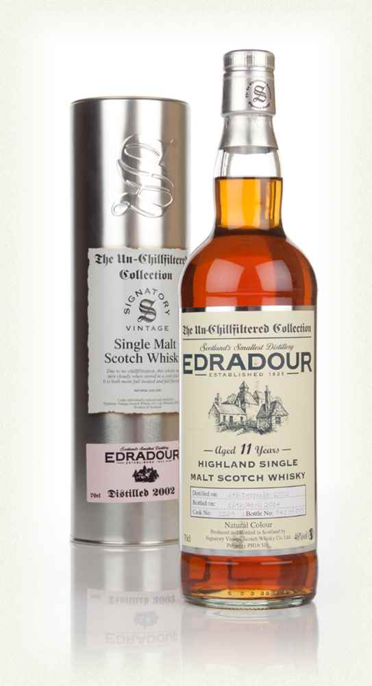 Edradour 11 Year Old 2002 (cask 1269) - Un-Chillfiltered (Signatory)