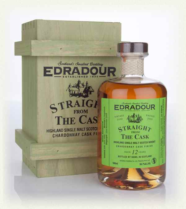 Edradour 12 Year Old 2000 Chardonnay Cask Finish - Straight from the Cask
