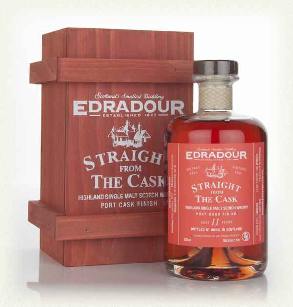 Edradour 12 Year Old 2001 Port Wood Finish - Straight from the Cask 55.8%