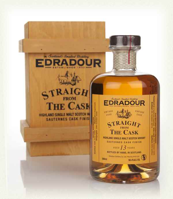 Edradour 13 Year Old 2000 Sauternes Cask Finish - Straight From The Cask