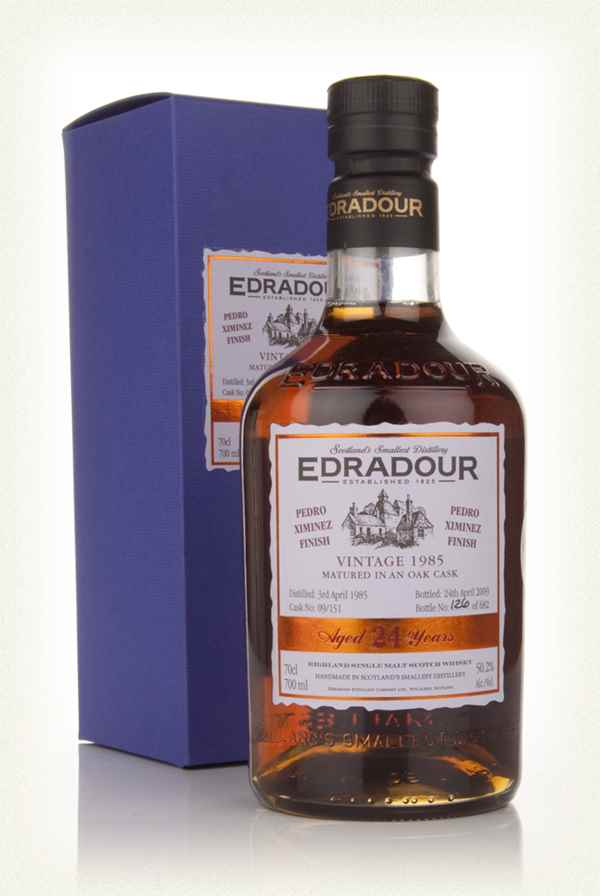 Edradour 24 Year Old 1985 Pedro Ximénez Cask Finish