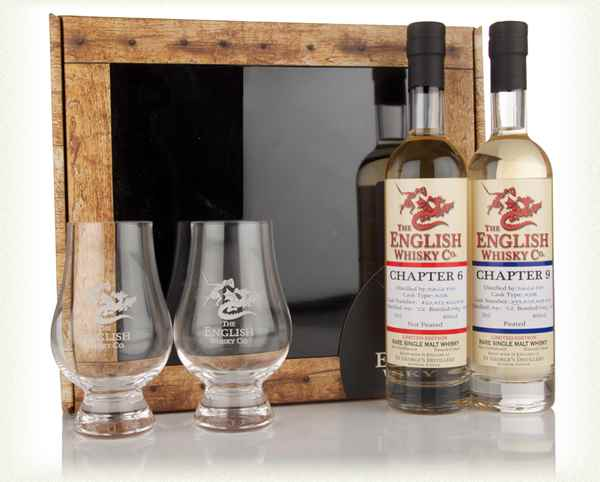 English Whisky Co. Chapter 6 & 9 + 2 Glasses