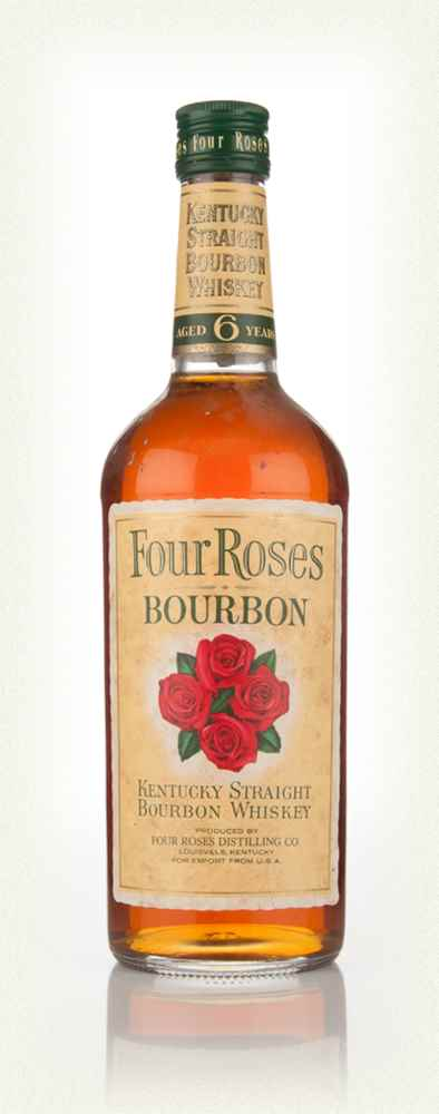 Four Roses 6 Year Old Kentucky Bourbon - 1970's