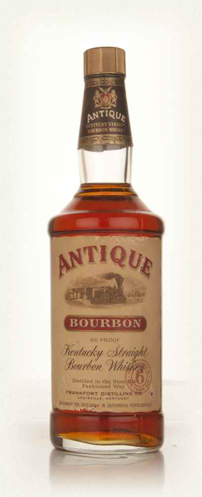 Antique 6 Year Old Kentucky Straight Bourbon Whiskey - 1960s