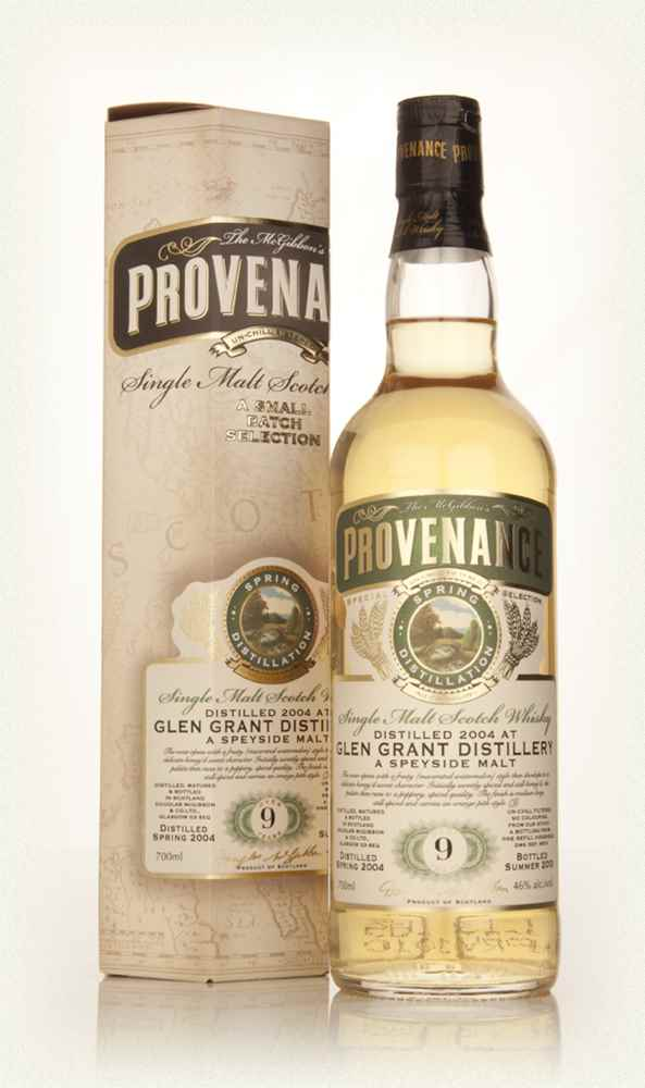 Glen Grant 9 Year Old 2004 (cask 9874) - Provenance (Douglas Laing)