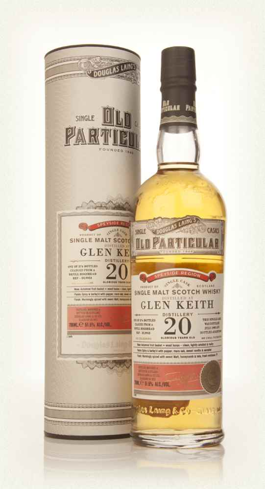 Glen Keith 20 Year Old 1993 (cask 9953) - Old Particular (Douglas Laing)