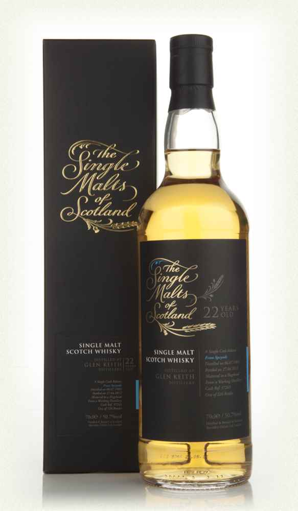 Glen Keith 22 Year Old 1989 - Single Malts of Scotland (Speciality Drinks)