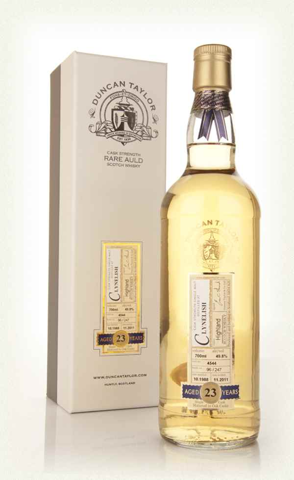 Glen Moray 19 Year Old 1991 Rare Auld