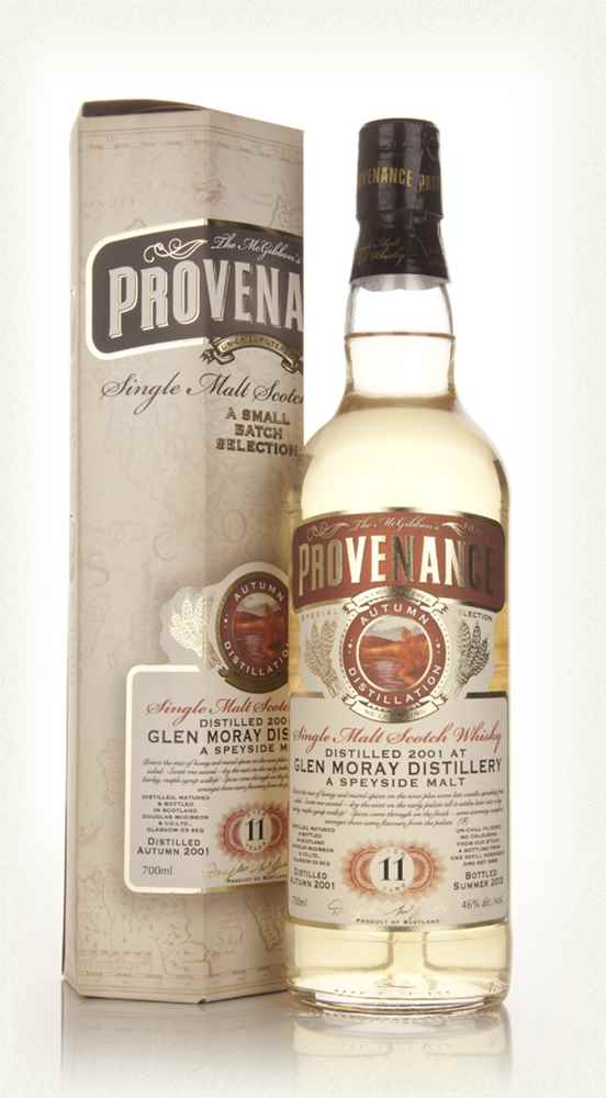 Glen Moray 11 Year Old 2001 - Provenance (Douglas Laing)