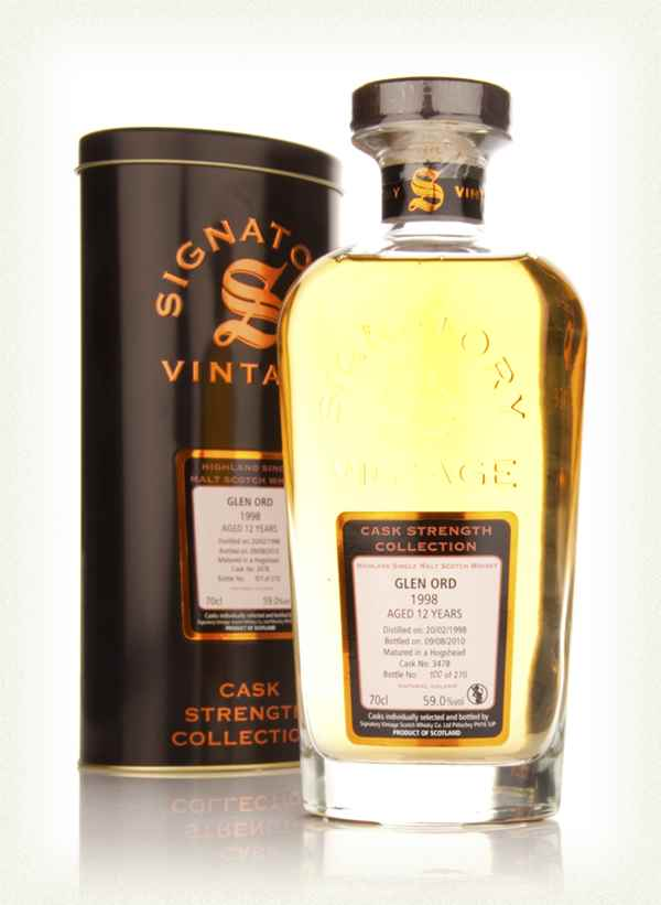 Glen Ord 12 Year Old 1998 Cask 3478 - Cask Strength Collection (Signatory)