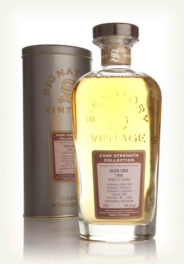 Glen Ord 11 Year Old 1998 - Cask Strength Collection (Signatory)