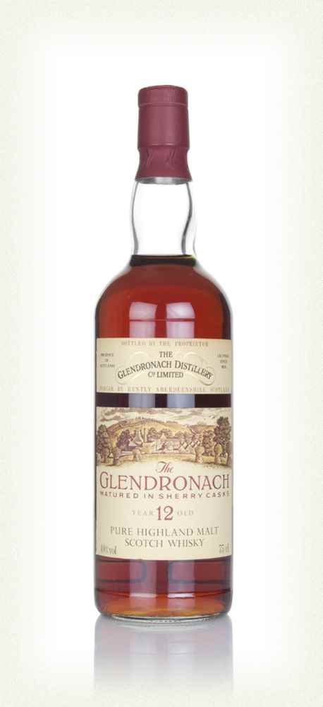 GlenDronach 12 Year Old Sherry Cask