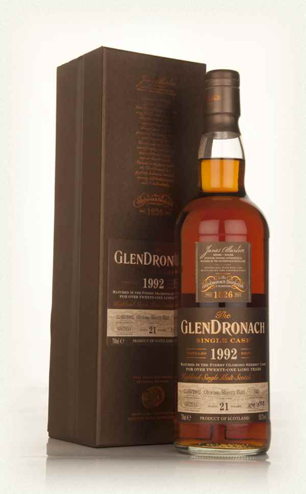 GlenDronach 21 Year Old 1992 (cask 145) - Batch 8