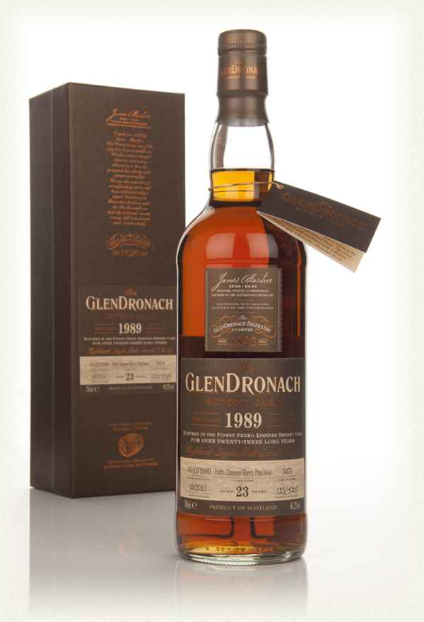 GlenDronach 23 Year Old 1989 (cask 5470) - Batch 9
