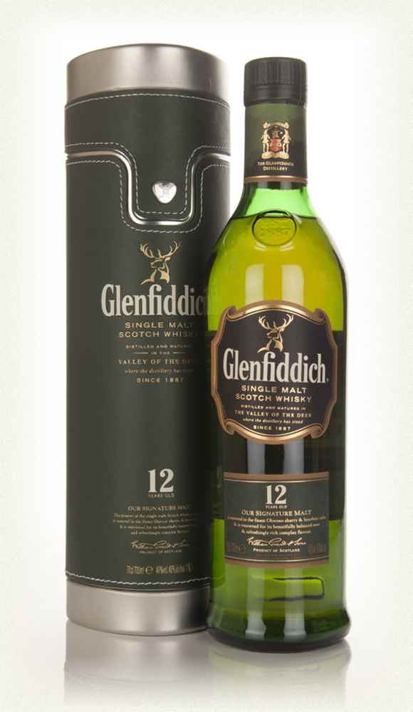 Glenfiddich 12 Year Old In Travel Case