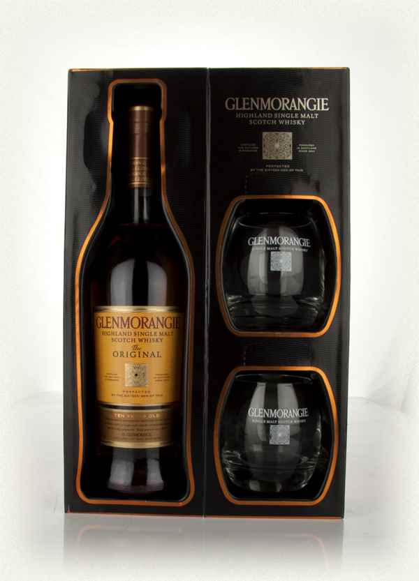 Glenmorangie 10 Year Old Original + Glasses