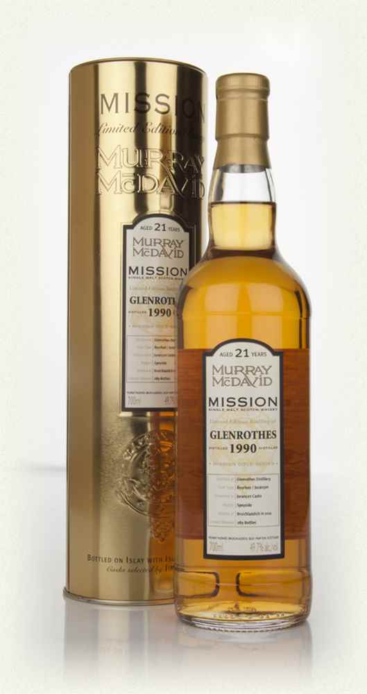 Glenrothes 21 Year Old 1990 - Mission (Murray McDavid)
