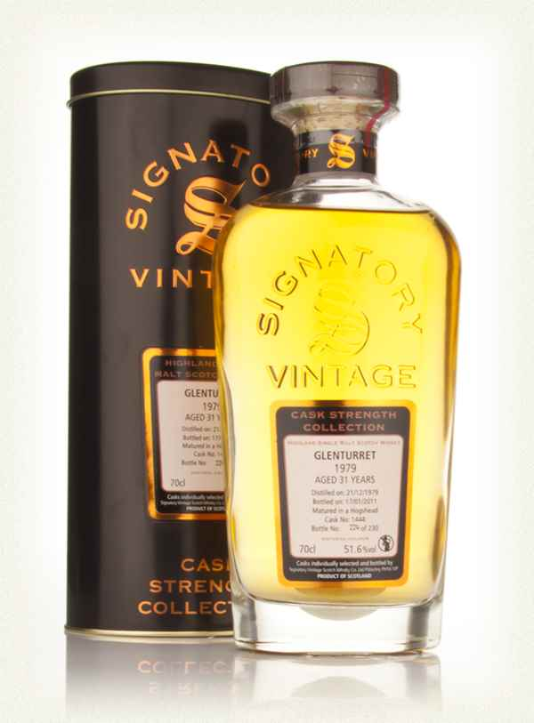 Glenturret 31 Year Old 1979 - Cask Strength Collection (Signatory)