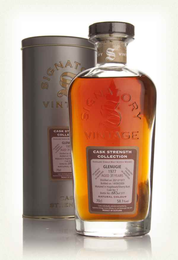 Glenugie 31 Year Old 1977 - Cask Strength Collection (Signatory)