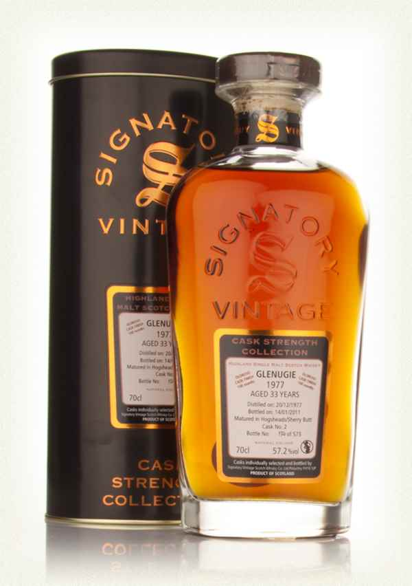 Glenugie 33 Year Old 1977 - Cask Strength Collection (Signatory)
