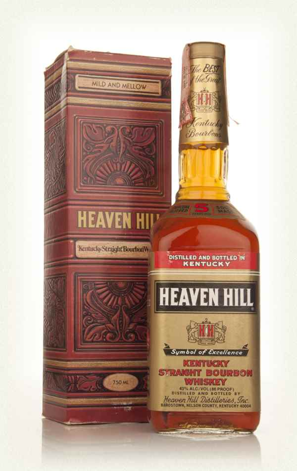 Heaven Hill 5 Year Old Kentucky Bourbon - 1980s