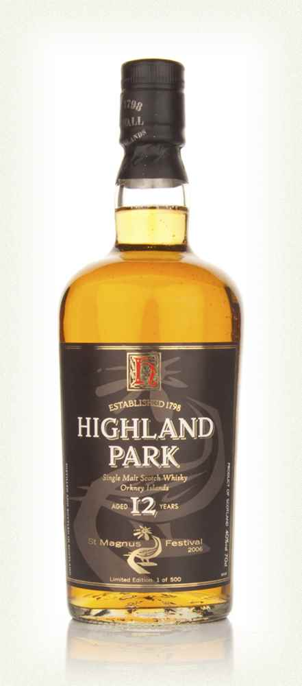 Highland Park 12 Year Old St Magnus Festival 2006 Limited Edition