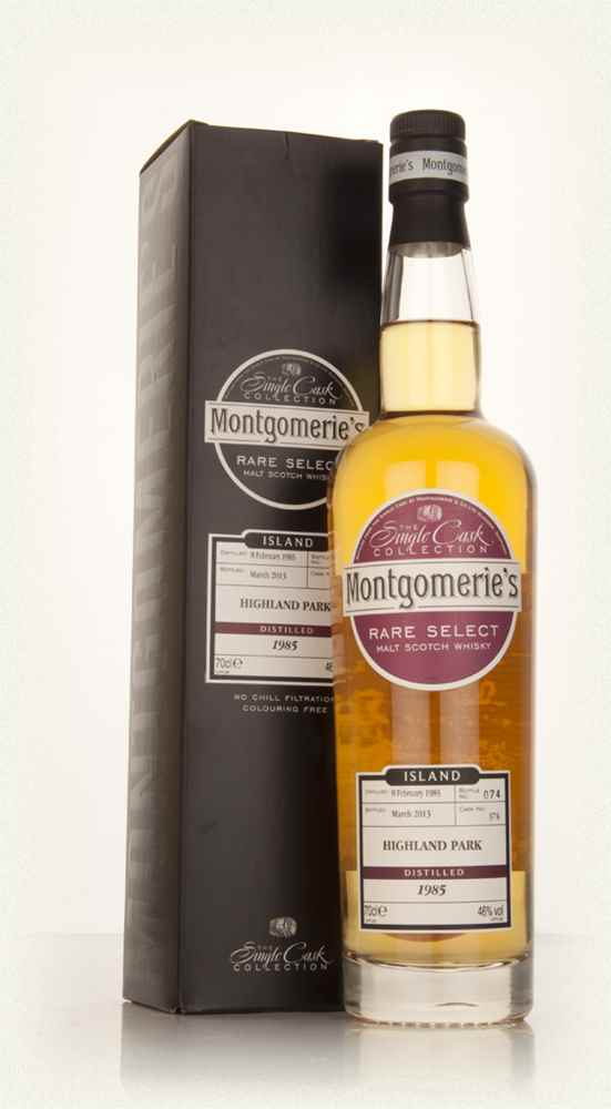 Highland Park 28 Year Old 1985 (cask 374) - Rare Select (Montgomerie's)